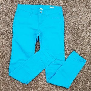 Arizona Bright Blue Super Skinny Jeans